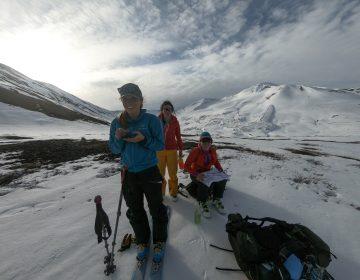 Ski touring women